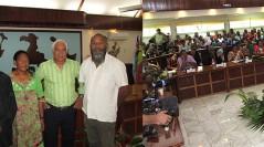 16 mai 2014, mise en place du nouvel exécutif de la Province des Iles