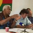 Explications du groupe UC-FLNKS avant le Comité des signataires extraordinaire